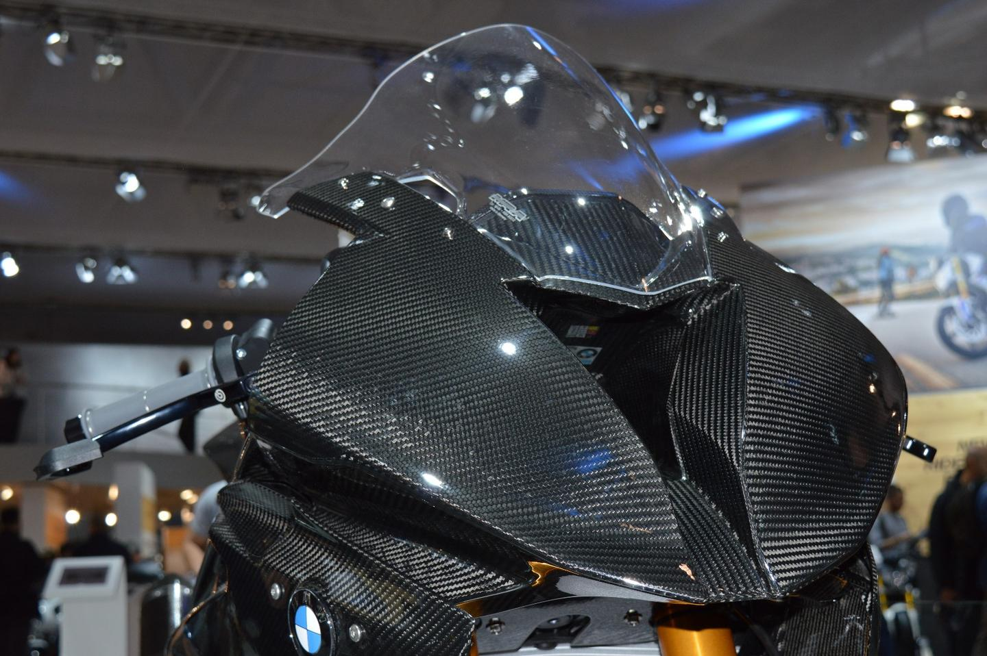 BMWhas used carbon fiber for the HP4 Race