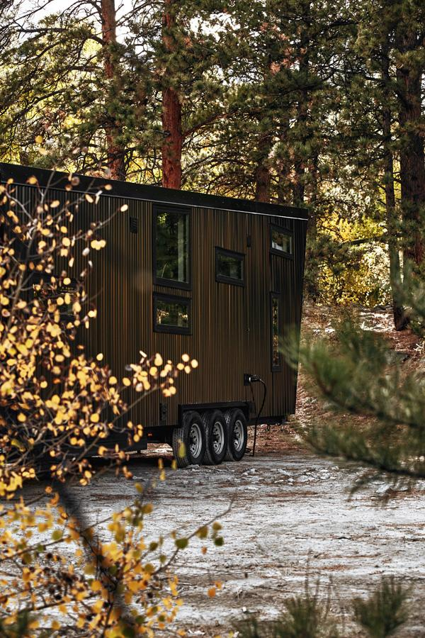 The Draper runs from a standard RV-style hookup