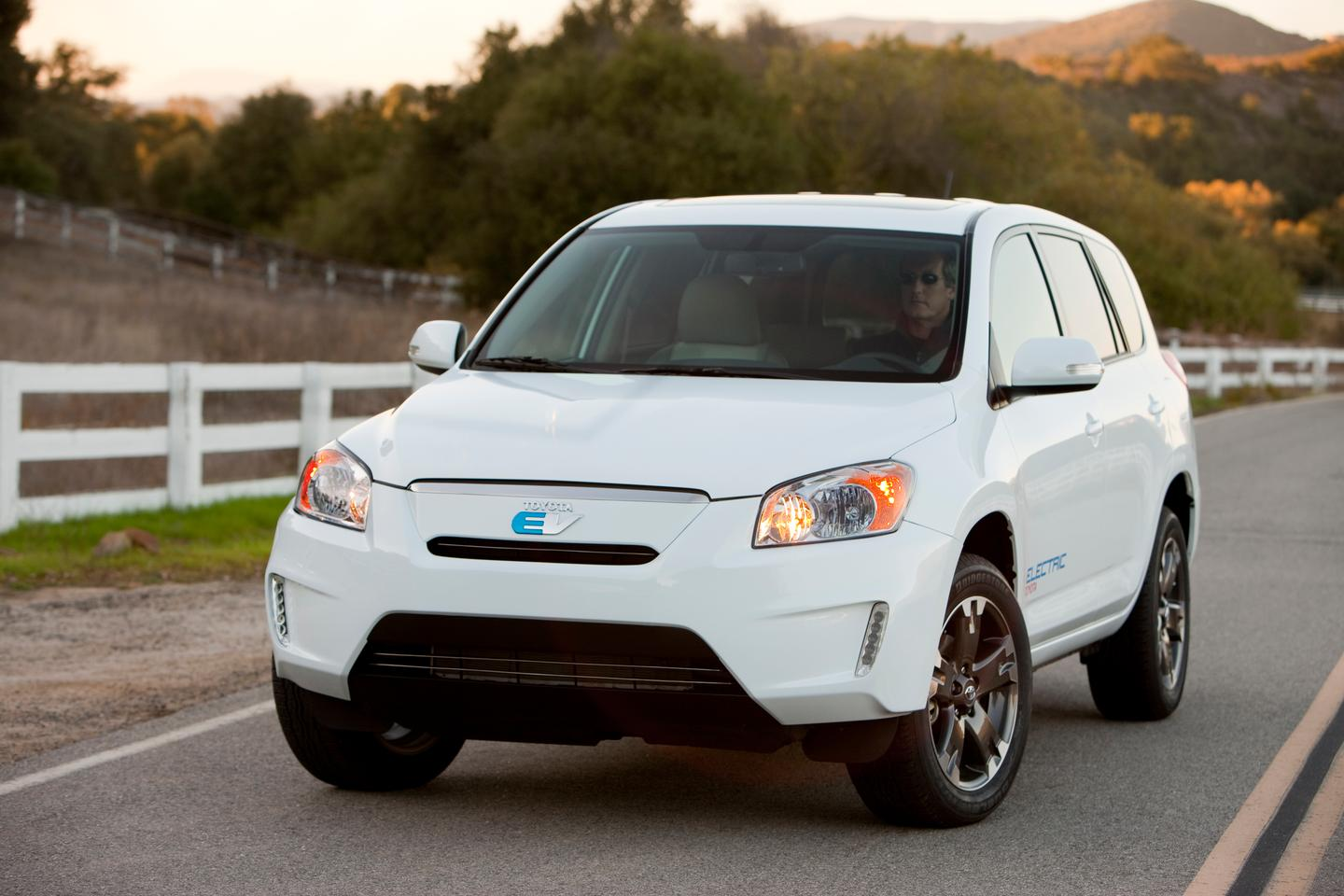 Toyota/Tesla collaboration results in new RAV4 EV technology demonstrator