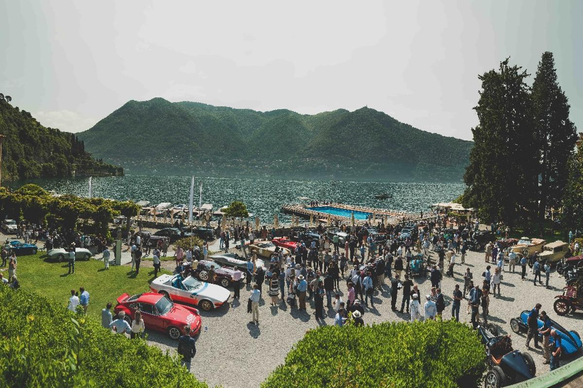 Concours events always seem to be held in picturesque surroundings, and the Villa Erba and Villa d'Este connection makes for a wonderful and supportive localenvironment.