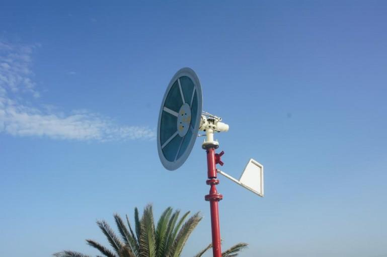 Saphon's bladeless wind turbine