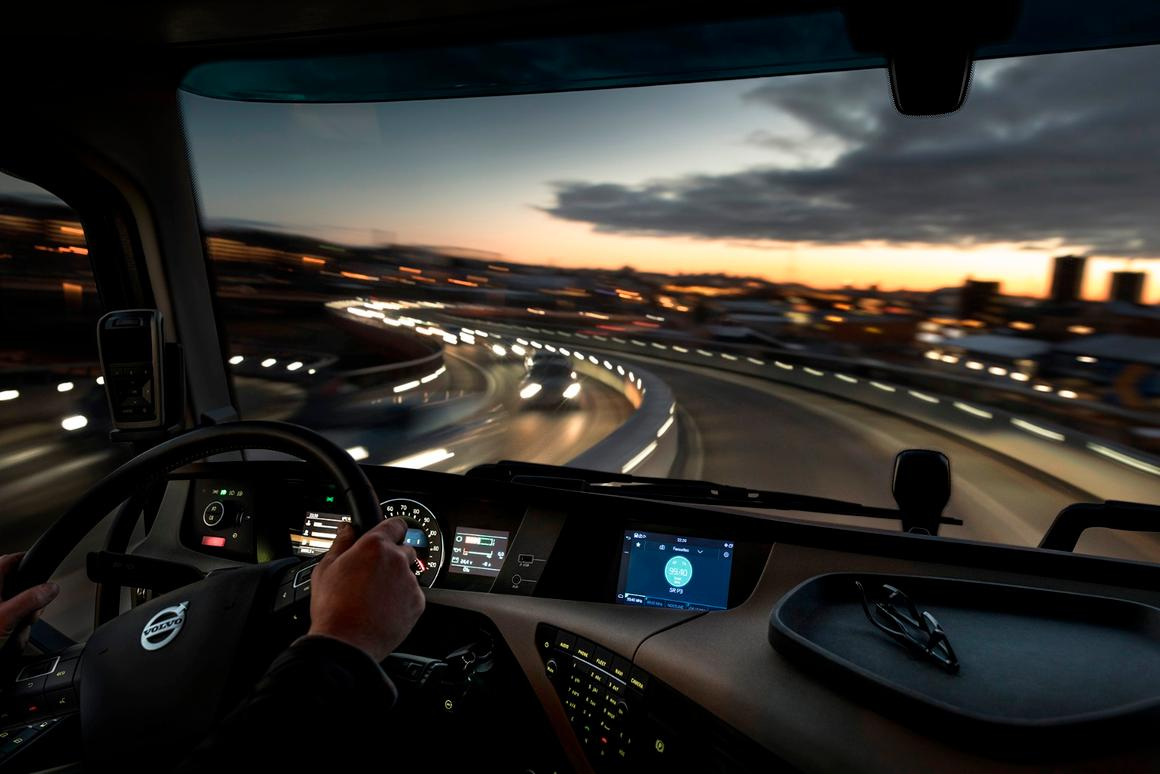 Volvo has borrowed from the world of cars for its latest in-truck tech