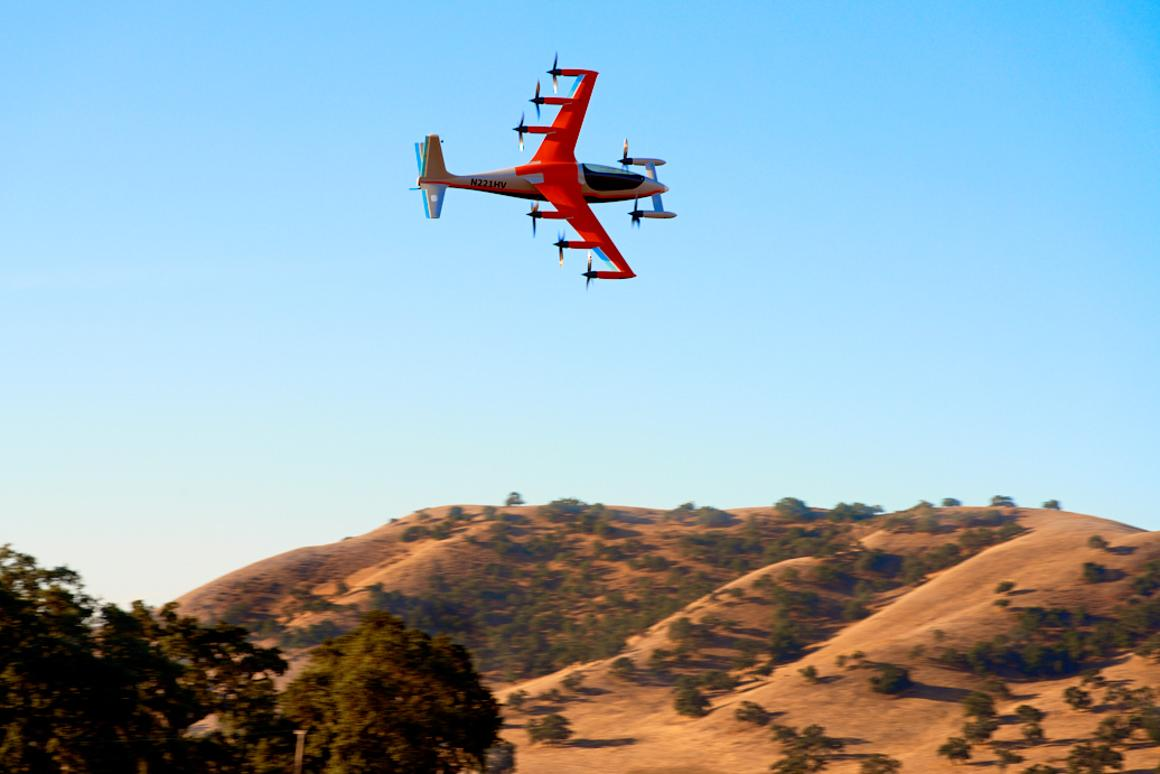 The Heaviside follows in the footsteps of the Flyer, which emerged in 2017, and last year's Cora, a two-seat electric aircraft designed with short trips in mind