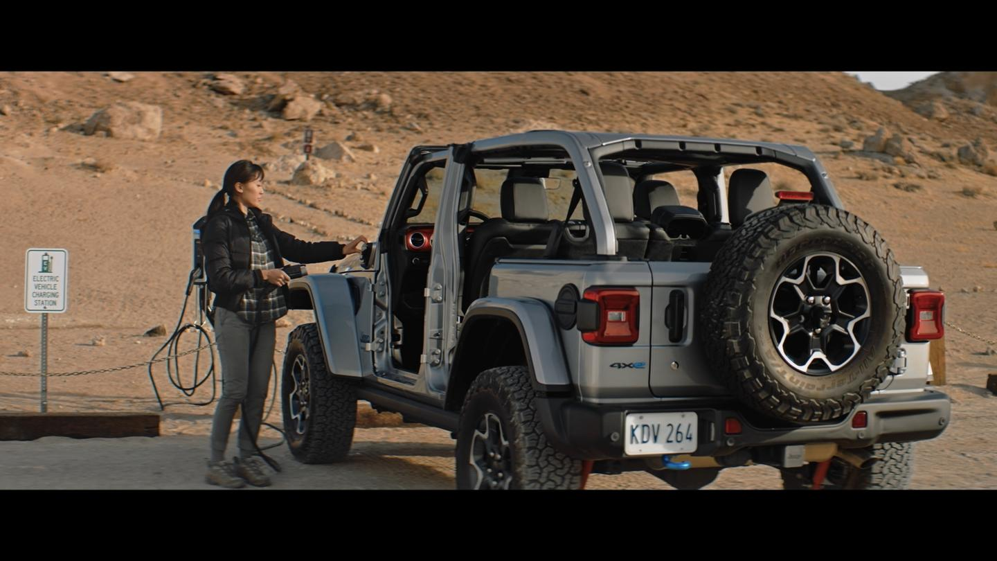 """The road behind the """"Road Ahead"""" included last year's introduction of the Wrangler 4xe"""