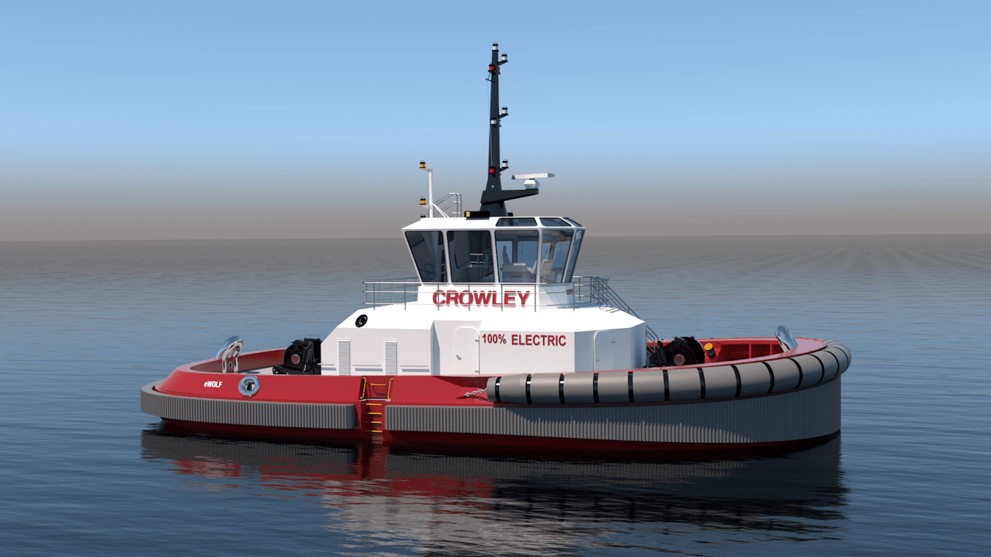 The eWolf will feature a 6.2-MWh battery array and two 2,100-kW electric motors