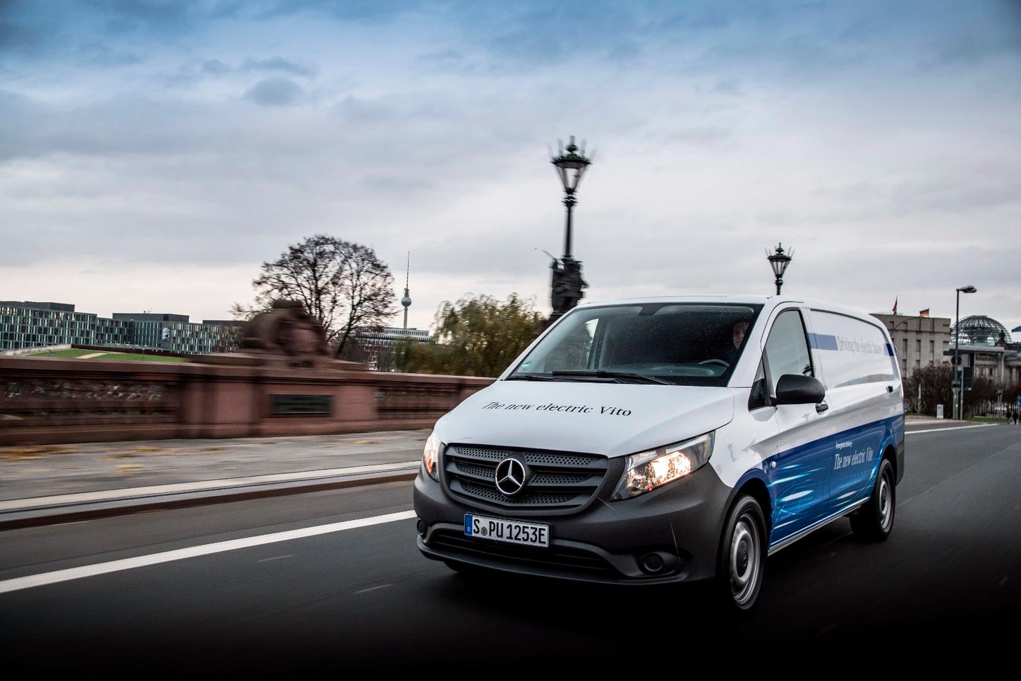 Mercedes is initially restricting eVito pre-orders to Germany with the first 1,000 customers receiving a complimentary Wallbox charging system