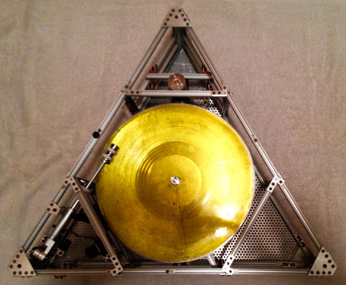 "The ""space-proof"" turntable known as the Icarus Craft"
