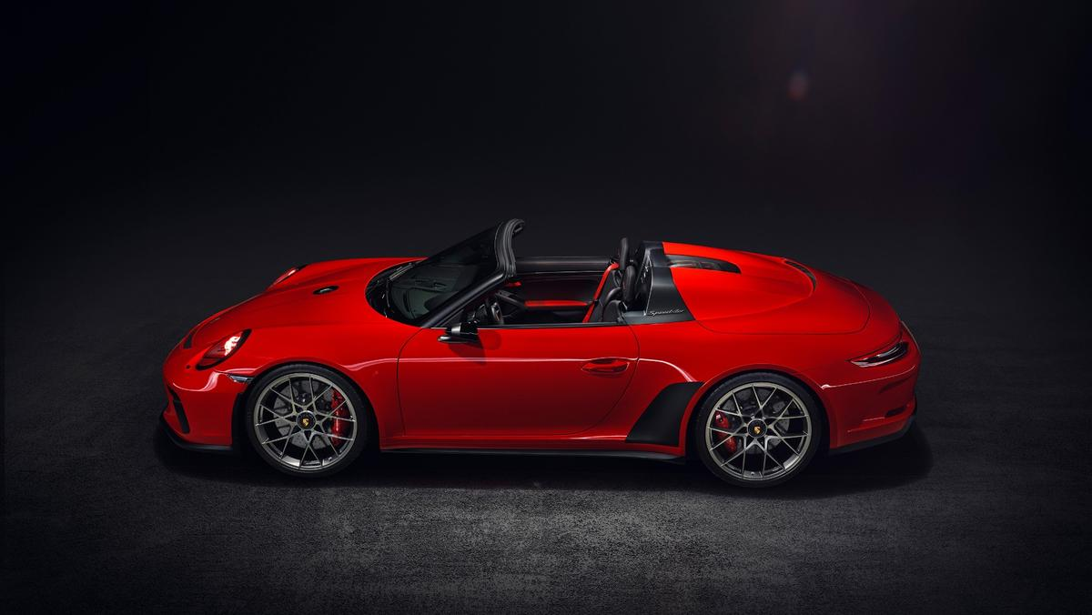 Exactly 1,948 of the cars will be made, honoring the year Porsche was founded after the Second World War