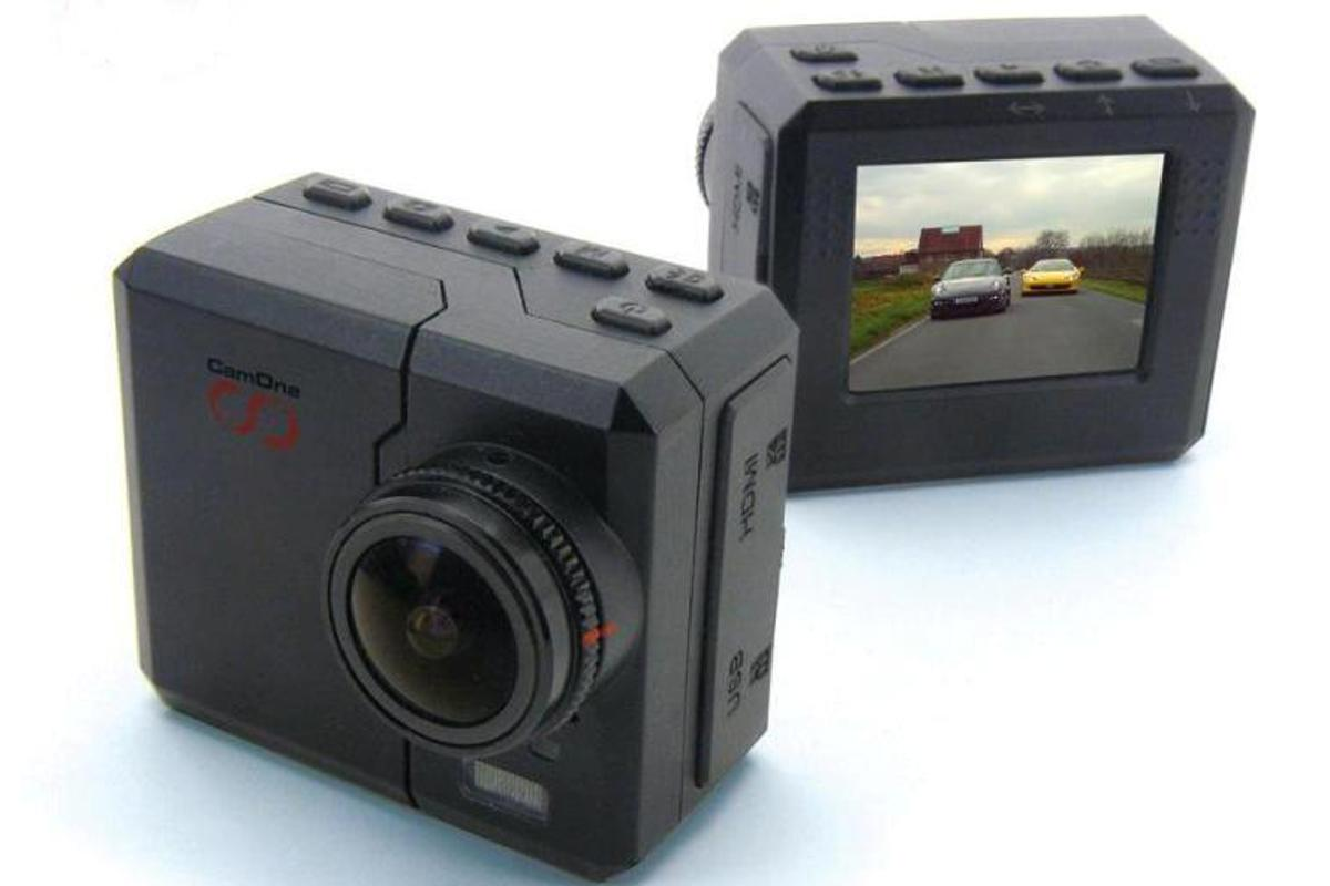 The CamOne Infinity has an LCD screen built in and boasts an interchangeable lens system