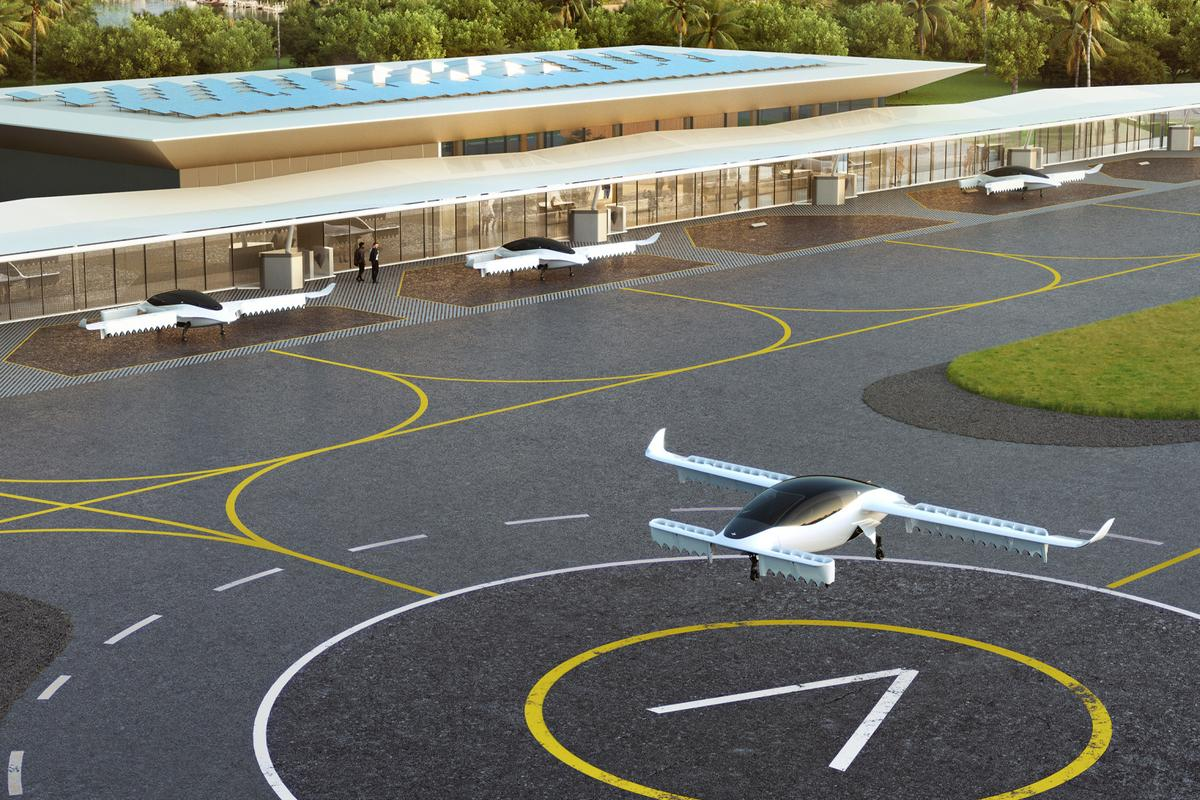 Lilium has announced plans to build at least ten flying taxi stations across the state of Florida