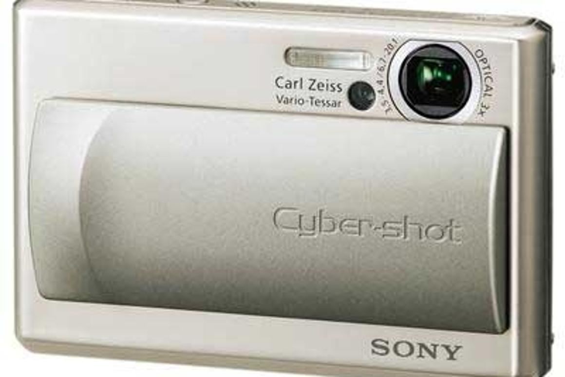 Sony's 5-megapixel ultra-compact camera