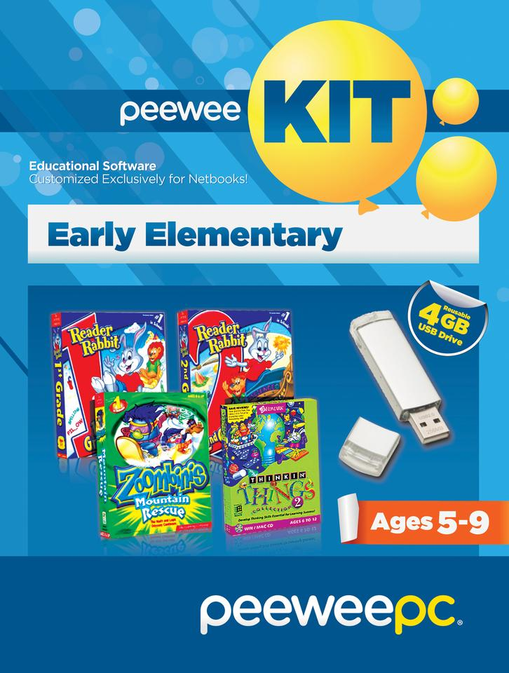 PeeWee Kit turns any computer into a child-friendly PC