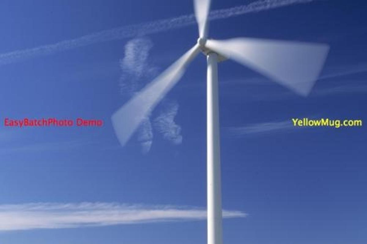 The planned 120-megawatt Stantonwind farm will use GE 1.5sle turbines like the one pictured here