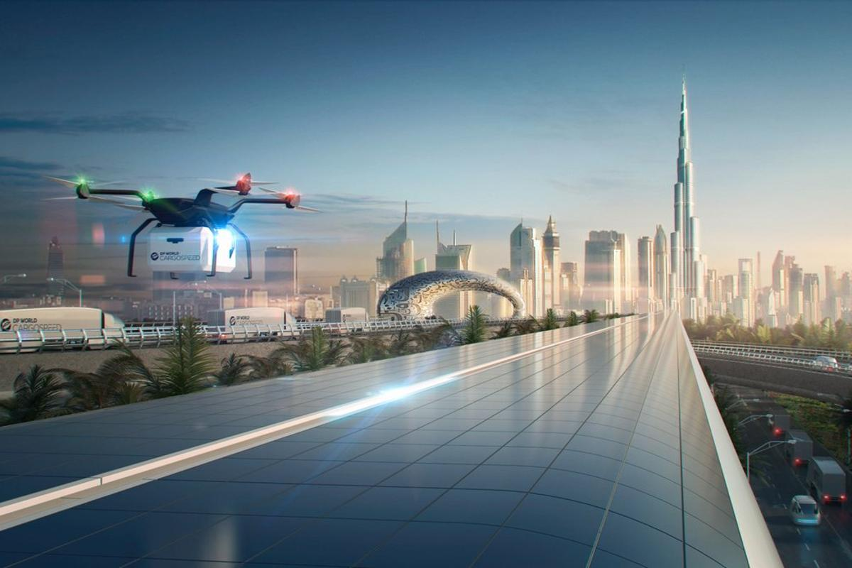 The Virgin Hyperloop One system used for Cargospeed will be the same used for its passenger service, a mixed-use transport system capable of top speeds of around 1,000 km/h