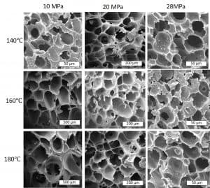 Scientists found they could produce different forms of foam by tweaking the recycling process