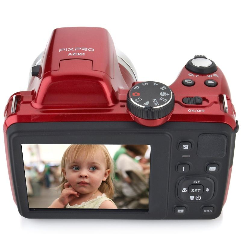 The new PIXPRO camera has a 3-inch 460,000-dot LCD display panel to the rear, a DSLR-like PASM mode dial, and includes a host of creativity options
