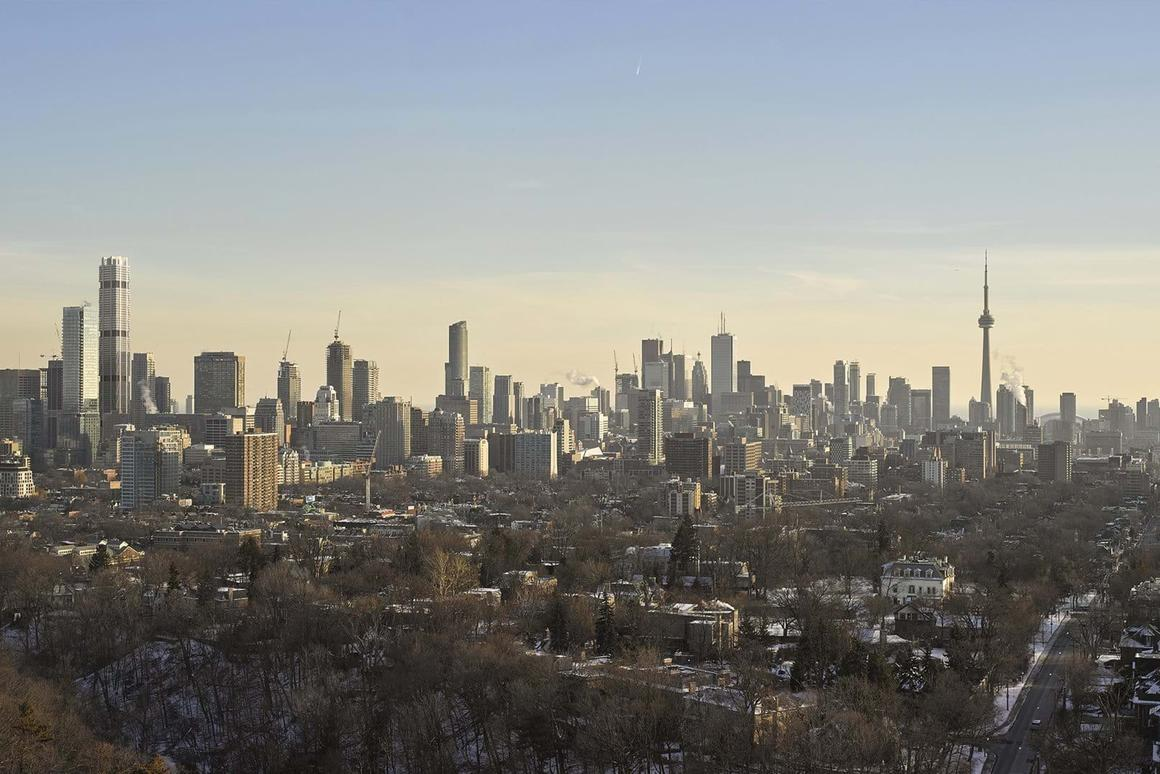 The One (the tallest building on the left of this image) will be Canada's tallest building.