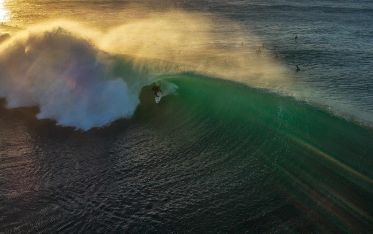 Commended - Sport. Sunrise Surfing. Bateau Bay, NSW, Australia