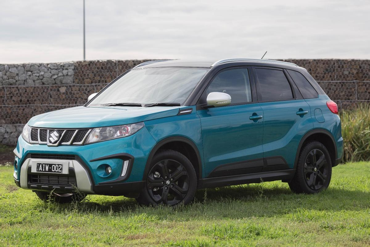 The Suzuki Vitara Turbo is the nicest city four-wheel drive we've driven
