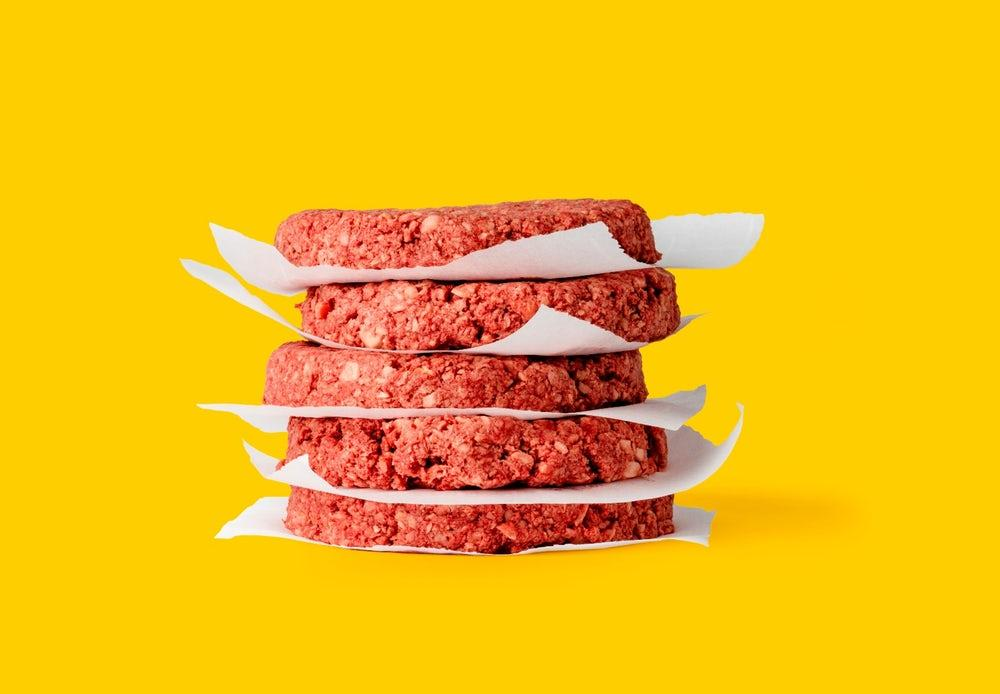 Impossible Foods produces its beef-free patties using plant-sourced replacements