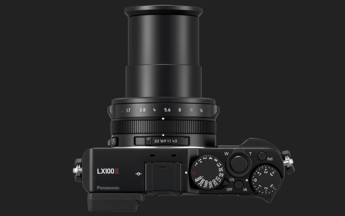 The Lumix LX100 II features a24-75 mm equivalent F1.7-2.8 Leica DC Vario-Summilux lens
