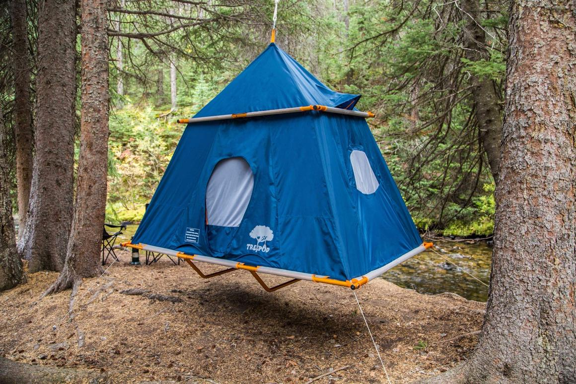 The TreePod Camper will hit the market in April