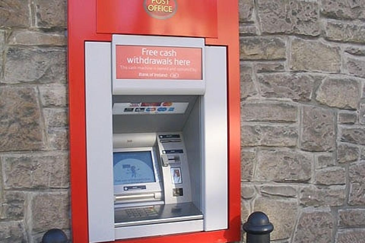Careful, you never know when an ATM might attack