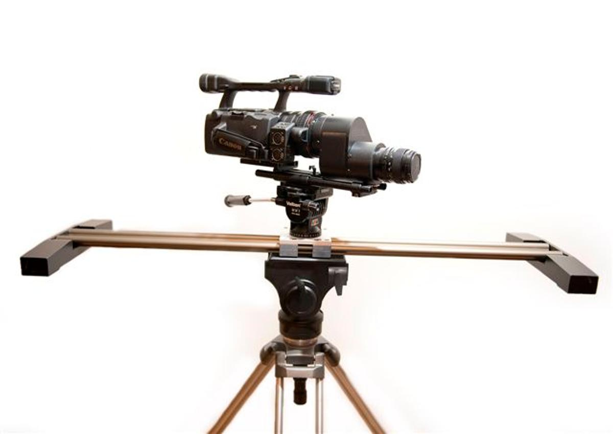 The GlideTrack dolly system.