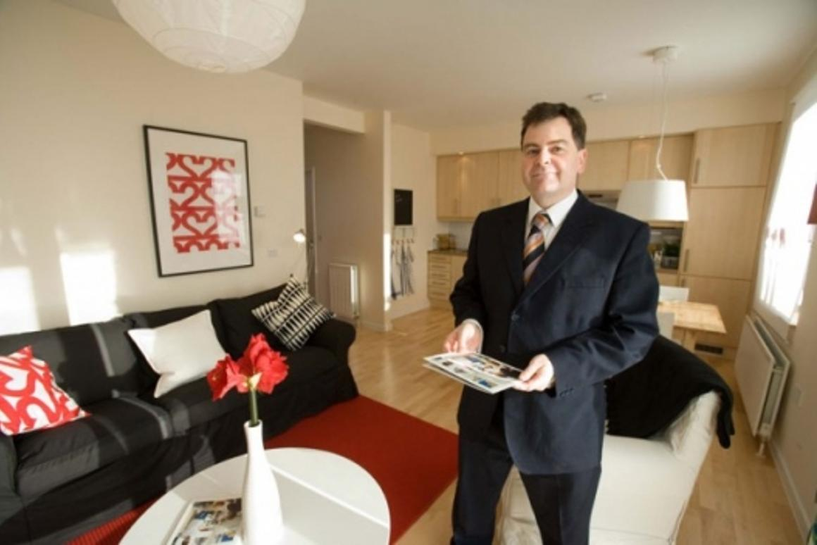 Alan Prole, Managing Director of Live Smart @ Home in BoKlok display apartment
