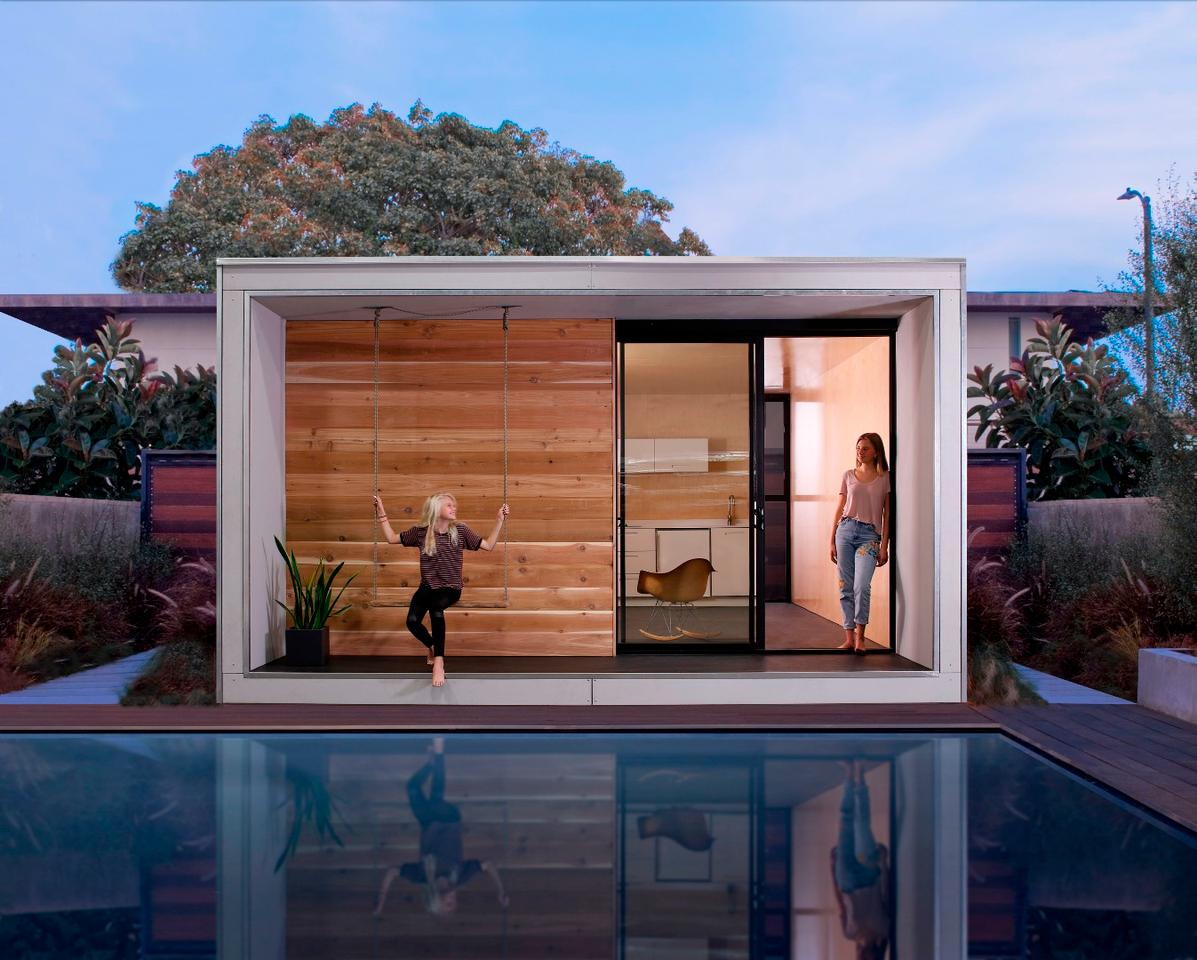 Santa Monica-based architectural firmMinarc has created an energy-efficientmodular home that won't break the bank