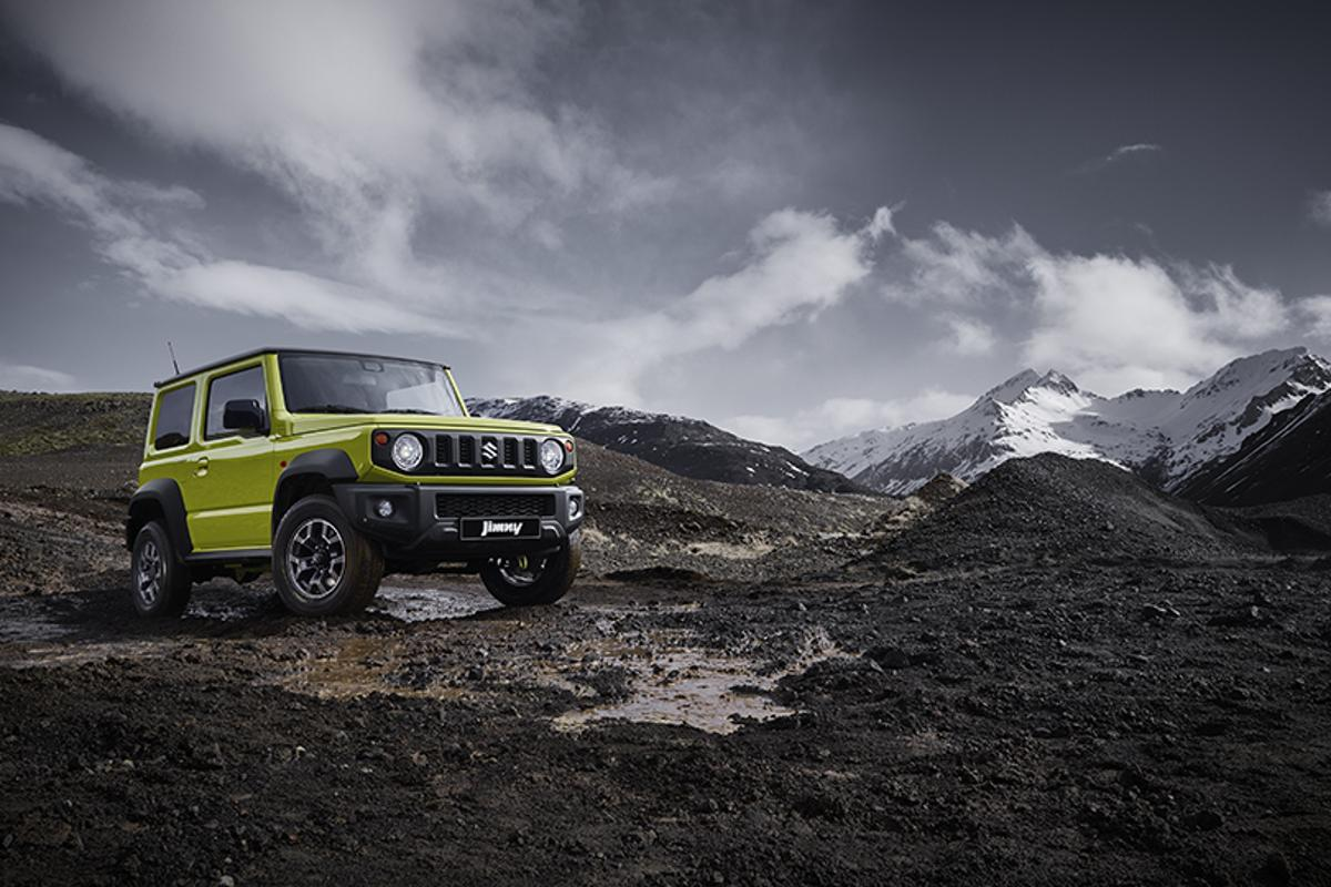 2019 Suzuki Jimny:  Genuine off-road capability with a humble, fun, retro approach at a fraction of the cost of a G-Wagen