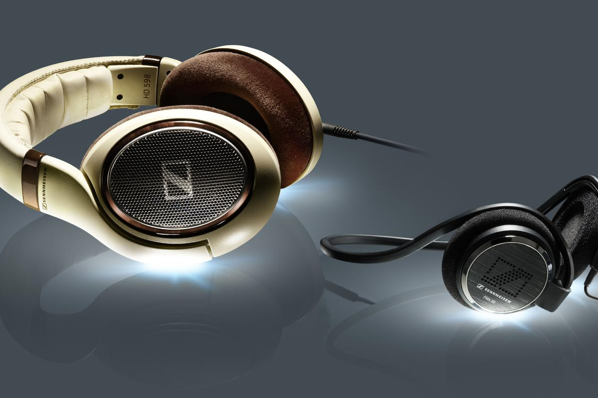 Sennheiser has given its 500 series audiophile headphones a new look and also released a couple of ultra-light mini headphones