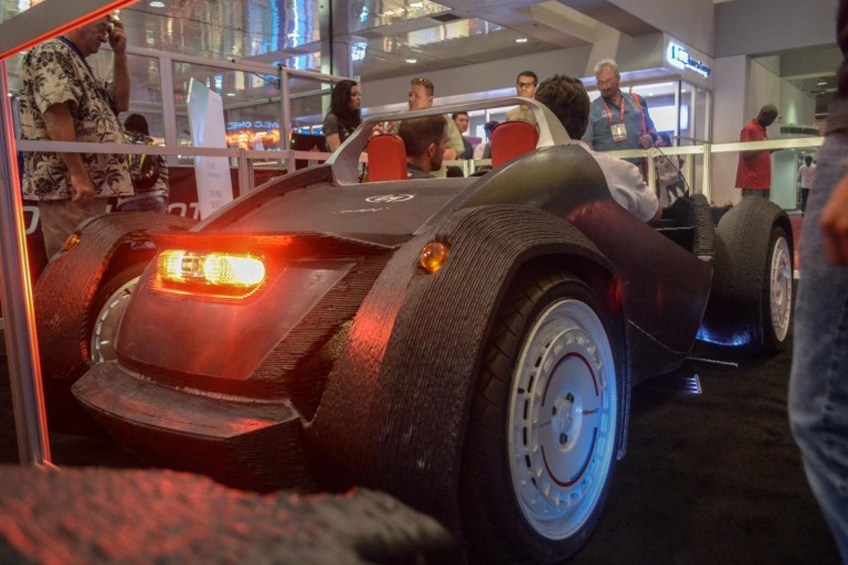 12 customizers will get the chance to design their ultimate 3D-printed car