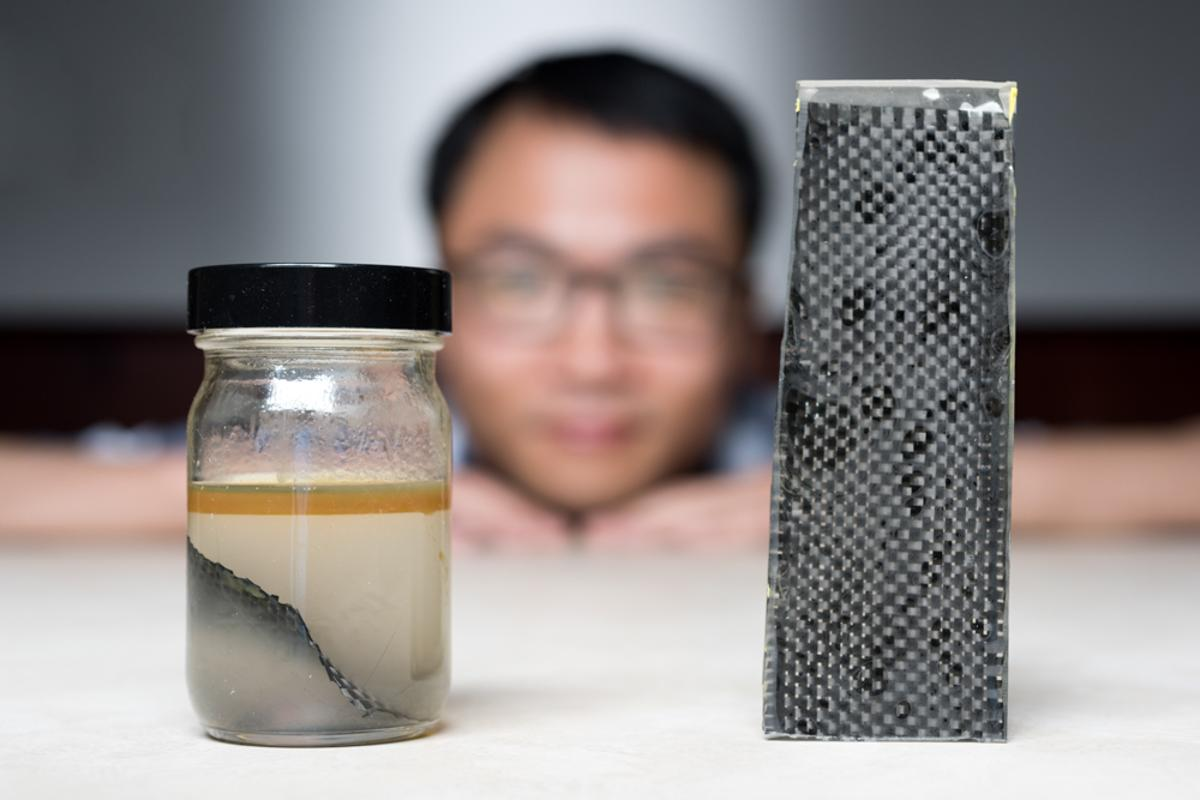 A team at Georgia Tech wants to recycle carbon fiber using a simple, scalable process