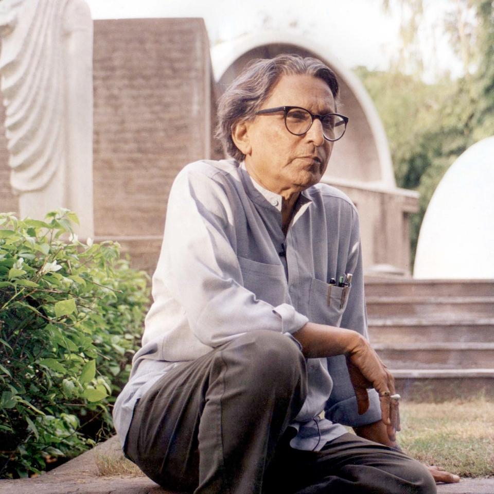 Balkrishna Doshi was born in Pune,India in 1927
