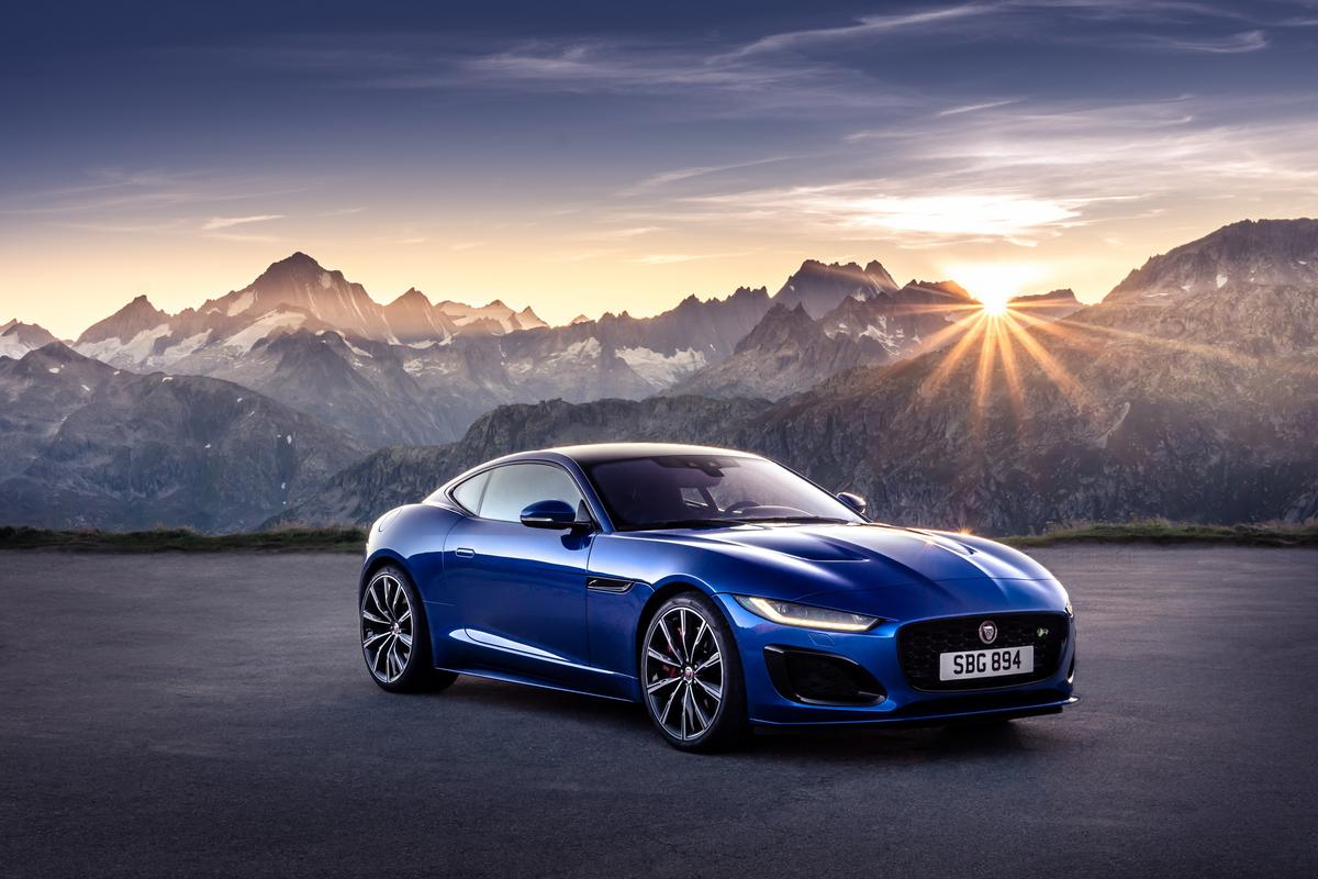 Jaguar gives the F-Type a refresh
