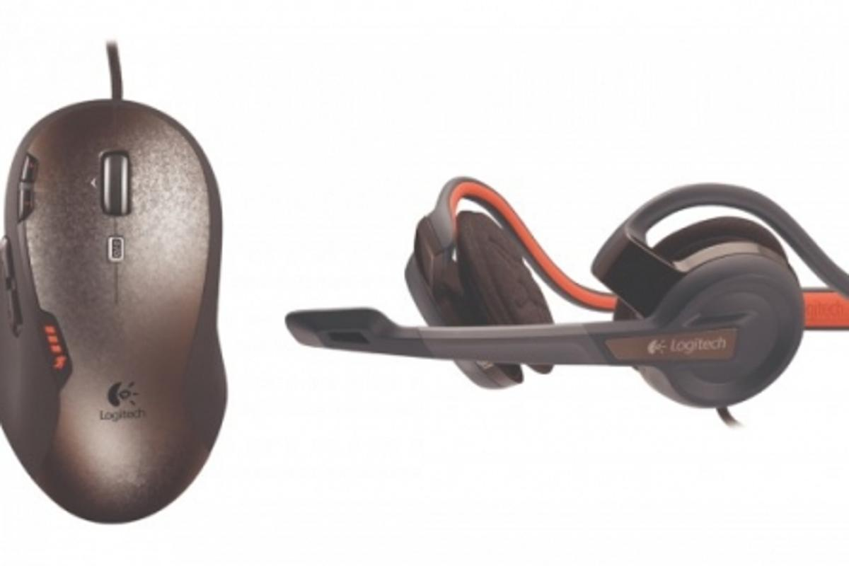 The G500 mouse and G330 headset from Logitech