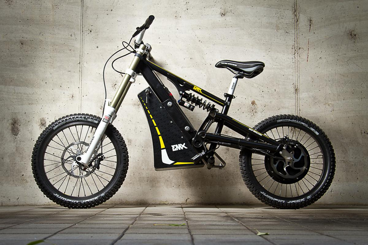 The EMX bike is offered in Street and Cross (off-road) versions