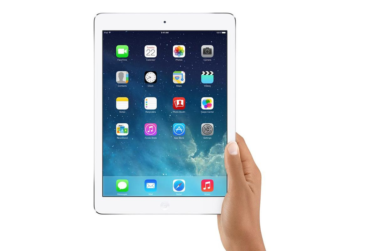 Today Apple pulled back the curtain on the iPad Air, the new full-sized (9.7-in.) entry in Apple's tablet lineup