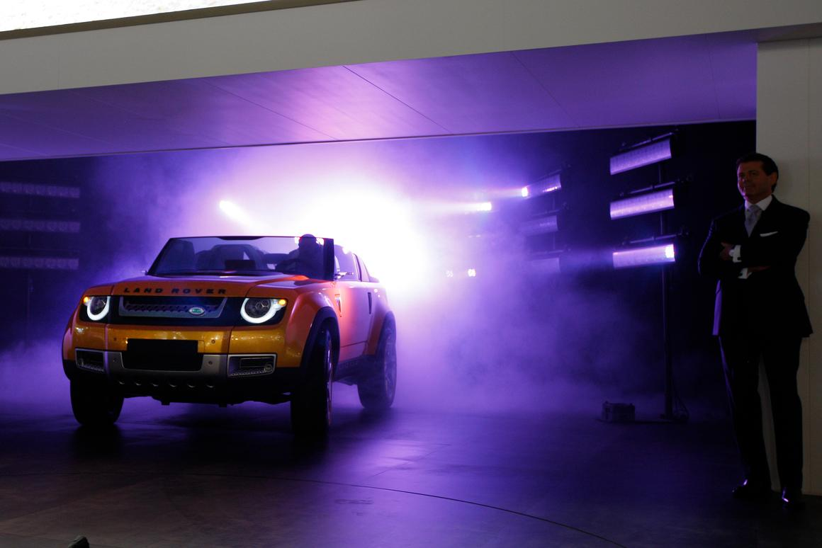 Land Rover has taken the wraps off its already controversial DC100 Sport Concept in Frankfurt
