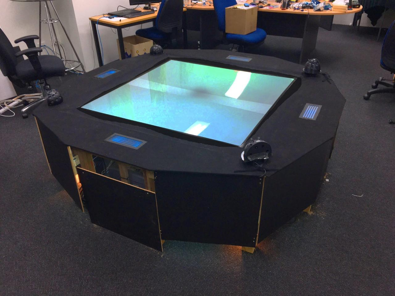 The Worlds First Multi User Hologram Table Is Here On Sale