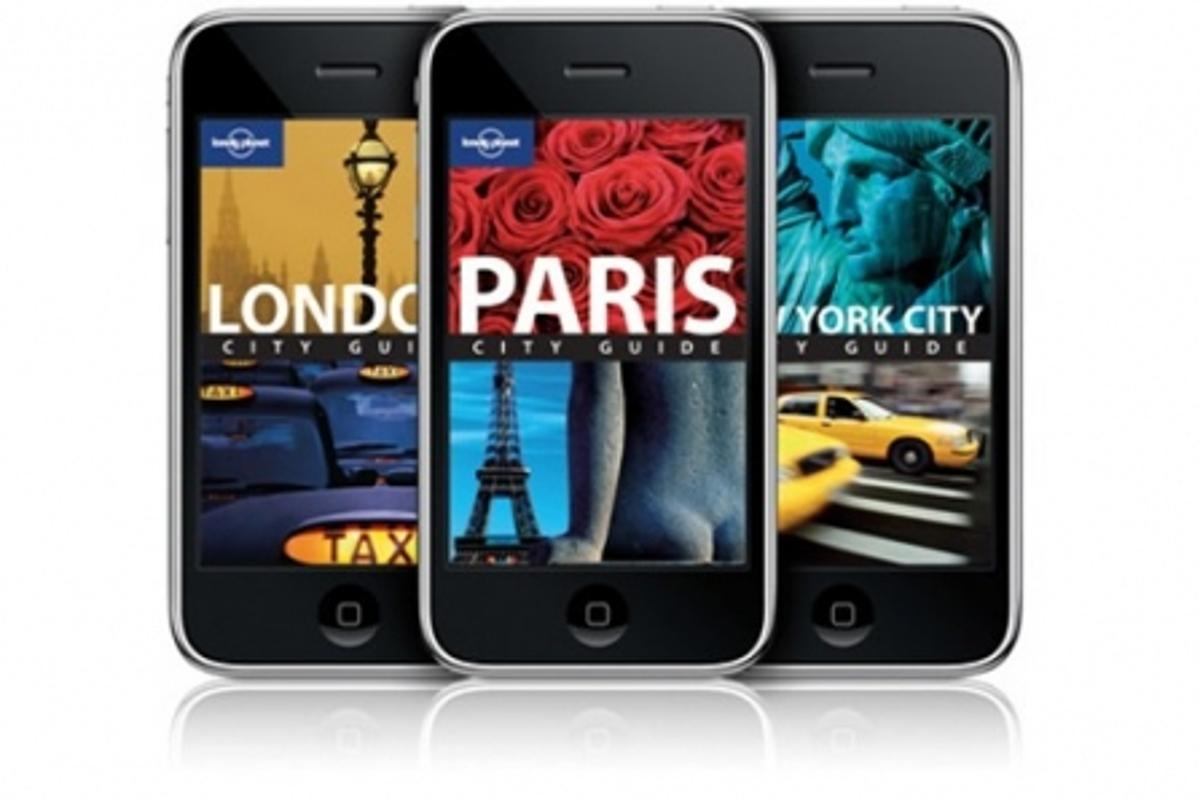 The Lonely Planet iPhone City Guides use the touchscreen scrolling and GPS features of the iPhone to provide travelers with information on 20 cities around the globe