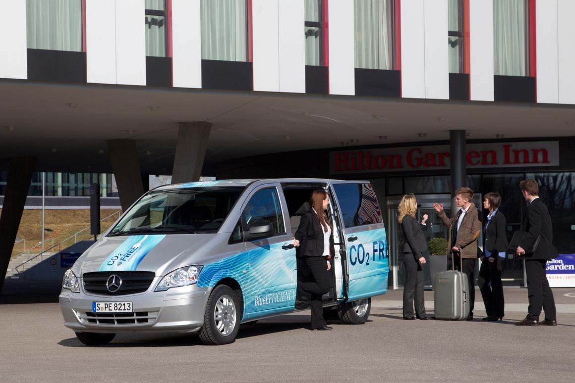 The Mercedes Vito E-Cell will be available around Europe in May