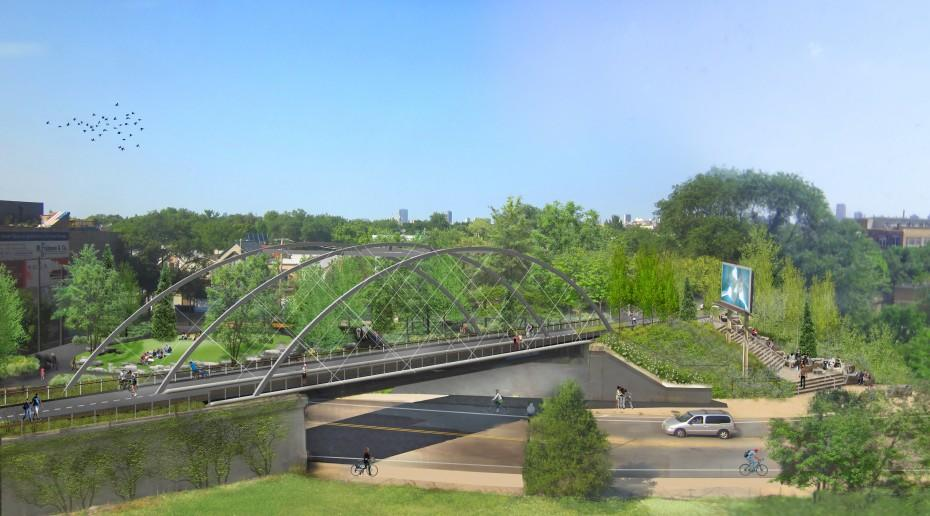 The 606 will provide Chicagoans with an alternative transportation corridor, a living work of art and new green space