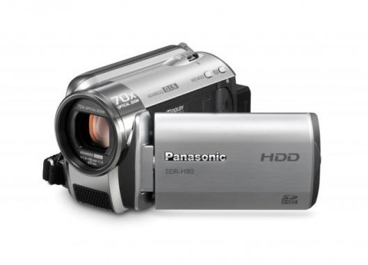 Panasonic SDR-H80 HDD camcorder