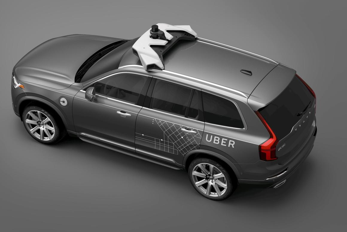 A look at the Uber Volvo that could be traveling around our streets in a few years