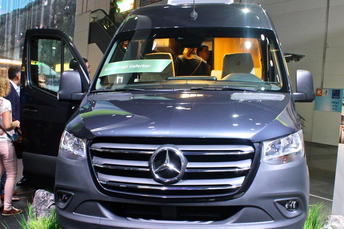 Hymer previews the future of Mercedes Sprinter 4x4 adventure