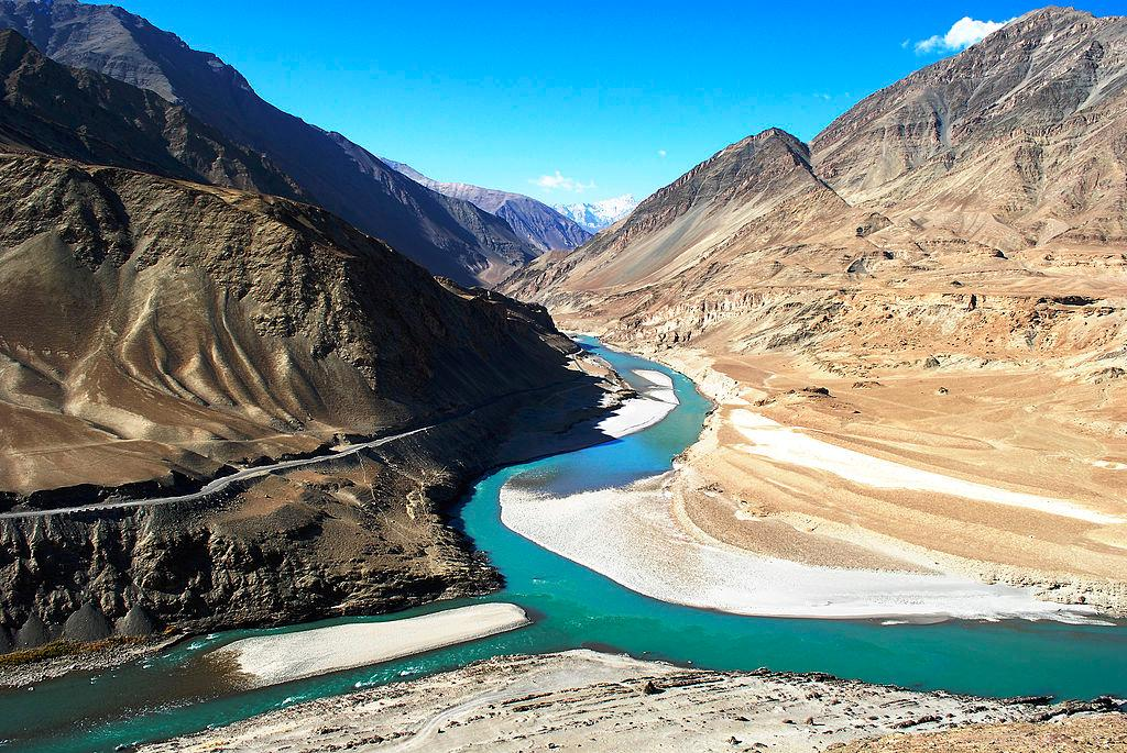 The Indus River, one of the many waterways fed by melt water from the Third Pole