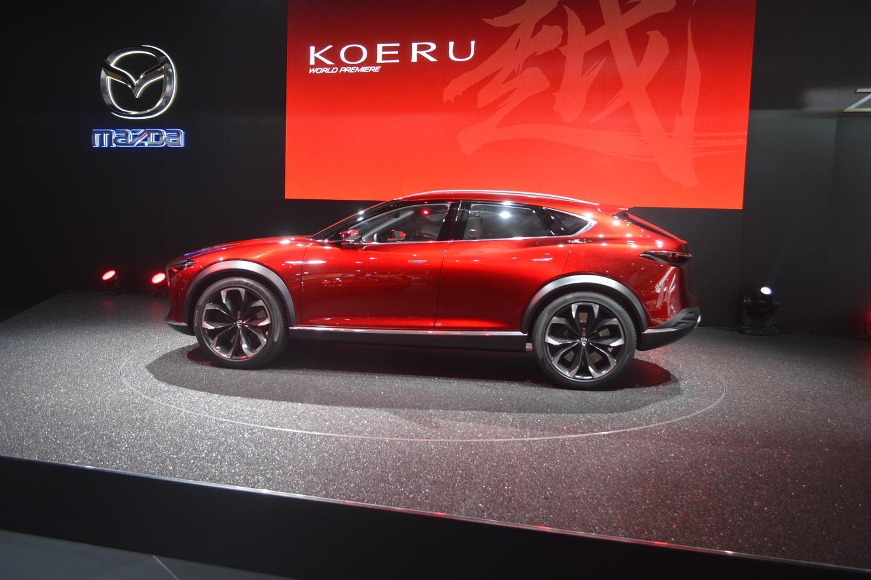 The KOERU boasts the new-generation of the Mazda's SKYACTIV technologies