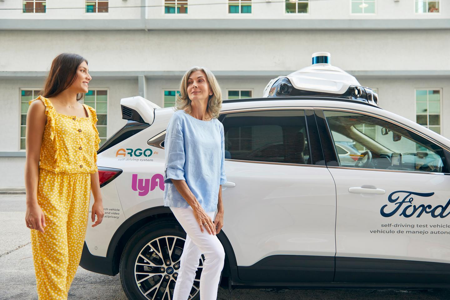 Lyft, Ford and Argo AI are teaming up to offer an autonomous ride-hailing service